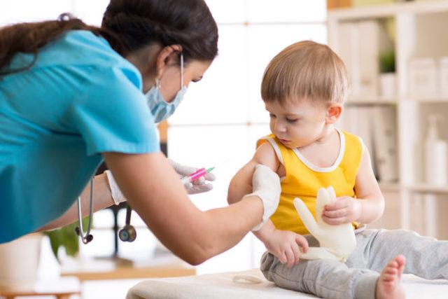 Техника введения моновалентной паротитной вакцины