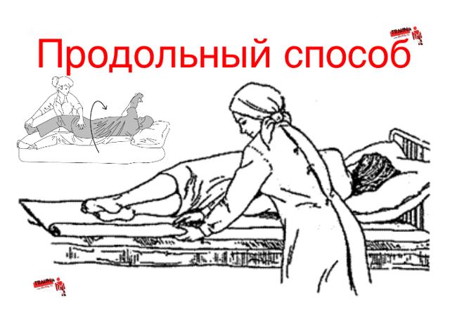 Смена постельного белья тяжелобольному, алгоритм выполнения