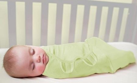 Техника пеленания ребенка