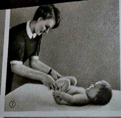 Техника проведения оздоровительного массажа и гимнастики ребенку грудного возраста