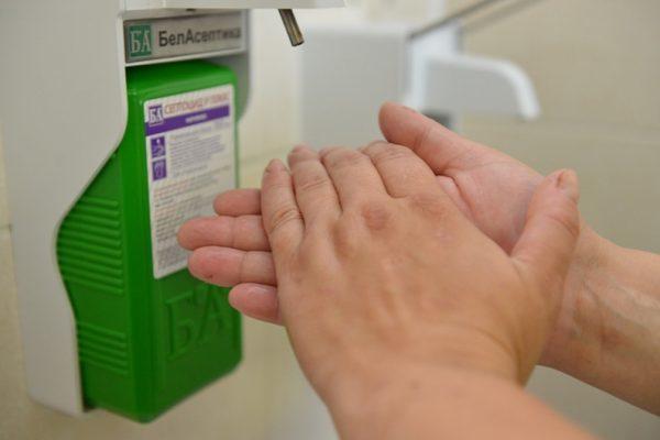 Дезинфекция рук, правила обработки рук