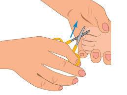 Уход за ногтями ребенка